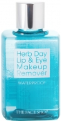 The Face Shop Herb Day Lip and Eye Make Up Remover Water Proof Средство для снятия макияжа