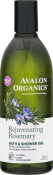 Avalon Organics Rejuvenating Rosemary Bath & Shower Gel Гель для душа Розмарин