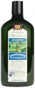 Avalon Organics Peppermint Strengthening Shampoo Шампунь Мята
