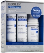 Bosley Bos Revive Starter Pack for Visibly Thinning Non Color-Treated Hair Система Синяя (шампунь, кондиционер, уход)
