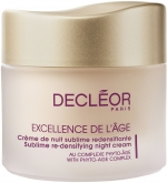 Decleor Sublime Re-densifying Night Cream Крем ночной