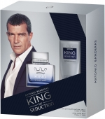 ANTONIO BANDERAS King of Seduction Парфюмерный набор