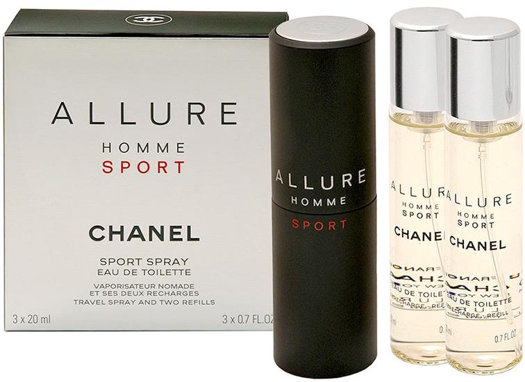 Chanel Allure Homme Sport парфюмерный набор купить в интернет