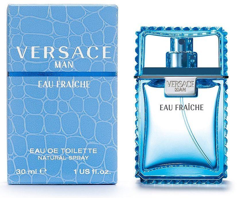 Versace Man Eau Fraiche туалетная вода 30мл купить в интернет