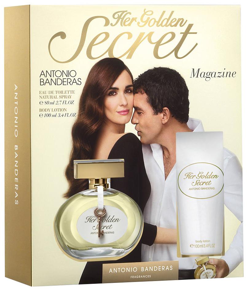 c6d99df82 Antonio Banderas Her Golden Secret Парфюмерный набор — купить в интернет-магазине  ParfumStore
