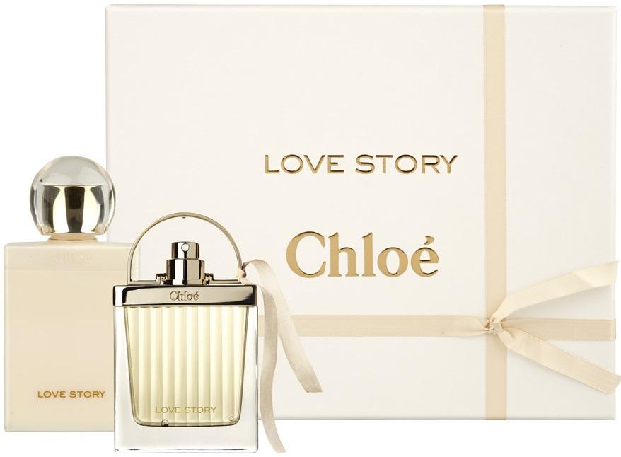 Chloe Love Story парфюмерный набор купить в интернет магазине