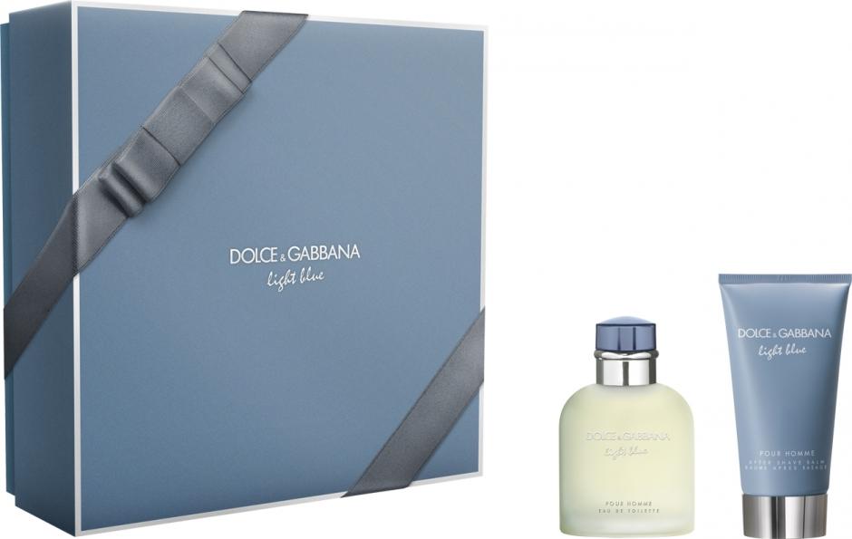 Dolce Gabbana Light Blue Pour Homme парфюмерный набор купить в