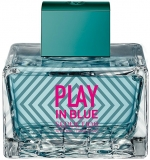 ANTONIO BANDERAS Play in Blue Seduction for Women Туалетная вода
