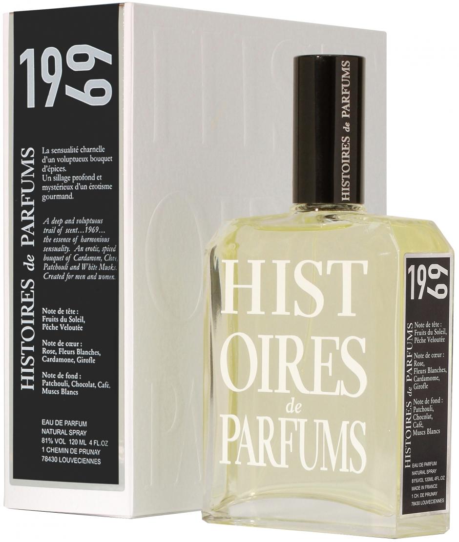 Хистори де Парфюмс 1969 Парфюм де Ривольт Подарочный набор (120мл  парфюмерная вода, 4мл мини feb4f8456bd