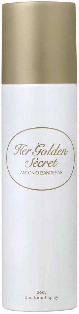 a47a57375 Antonio Banderas Her Golden Secret Парфюмированный дезодорант 150мл — купить  в интернет-магазине ParfumStore